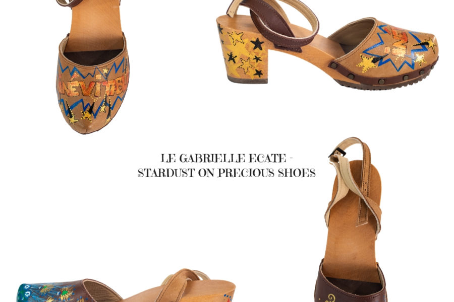 LE GABRIELLE ECATE – STARDUST ON PRECIOUS SHOES