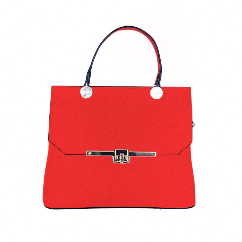 CURLY BAGS – A VERY ATTRACTIVE RED