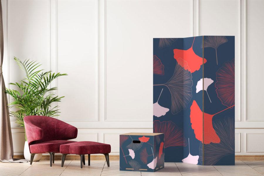 Paraventi Wallpotai by RIPPOTAI.  Sostenibilità, design e arte per le pareti mobili ecosostenibili